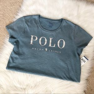 NWT Polo Ralph Lauren Embroidered T-Shirt